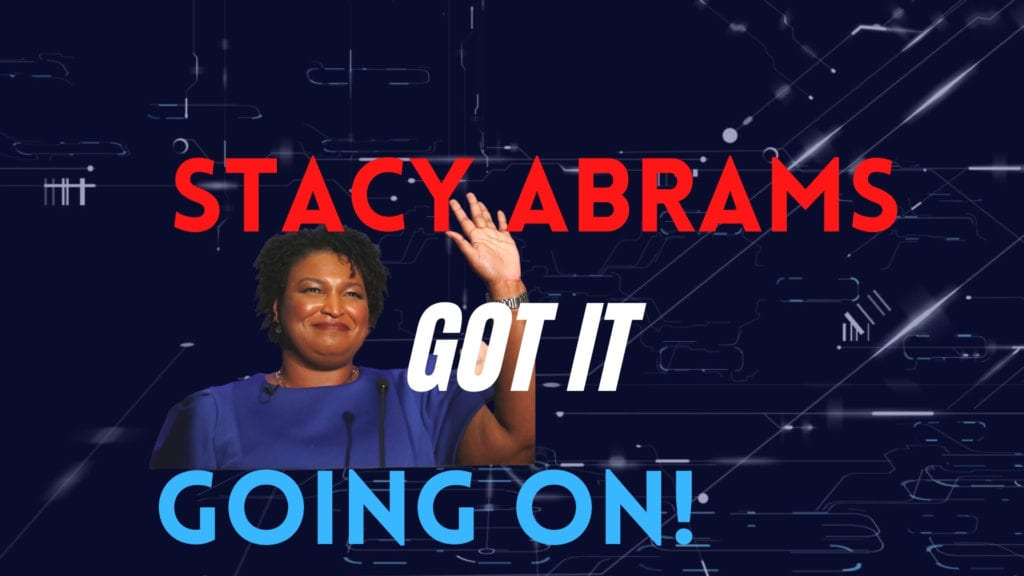 We wanted to pay tribute to the woman who saved democracy. We are so grateful to Stacey Abrams, we produced this musical parody in her honor.
